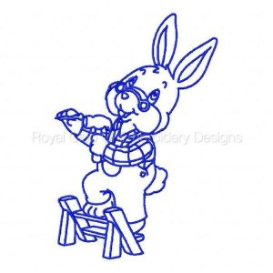 Royal Club Of Embroidery Designs - Machine Embroidery Patterns Bluework Handy Granny Set