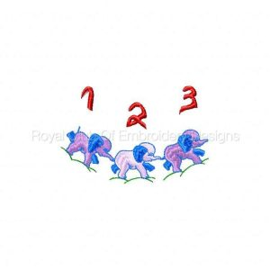 Royal Club Of Embroidery Designs - Machine Embroidery Patterns Applique Boy Bibs Set