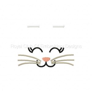 Royal Club Of Embroidery Designs - Machine Embroidery Patterns Bunny Ears Set