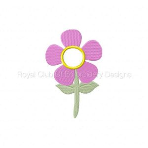 Royal Club Of Embroidery Designs - Machine Embroidery Patterns Burst of Spring Windsock Set