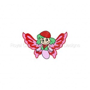 Royal Club Of Embroidery Designs - Machine Embroidery Patterns Butterfly Cuties Set