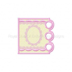 Royal Club Of Embroidery Designs - Machine Embroidery Patterns Candle Wraps Set