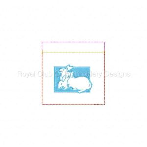 Royal Club Of Embroidery Designs - Machine Embroidery Patterns Easter Candy Bags Set