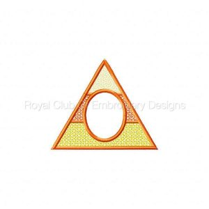 Royal Club Of Embroidery Designs - Machine Embroidery Patterns Candy Corn Tea Light Hanger Set