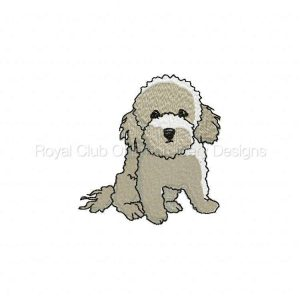 Royal Club Of Embroidery Designs - Machine Embroidery Patterns Caniche Set