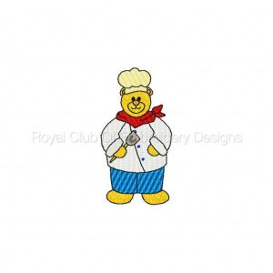 Royal Club Of Embroidery Designs - Machine Embroidery Patterns DD Career Bears Set
