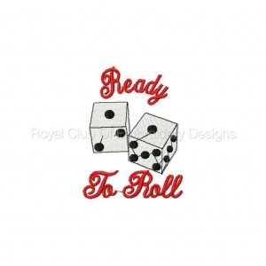 Royal Club Of Embroidery Designs - Machine Embroidery Patterns Casino Time Set