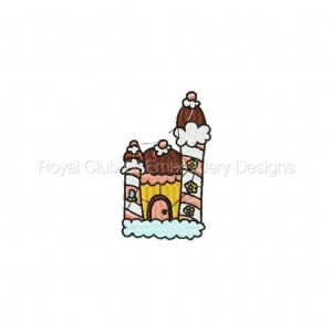 Royal Club Of Embroidery Designs - Machine Embroidery Patterns Castles Set