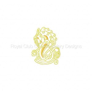 Royal Club Of Embroidery Designs - Machine Embroidery Patterns Celtic Horses Set