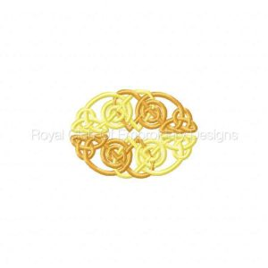 Royal Club Of Embroidery Designs - Machine Embroidery Patterns Celtic Knots Set