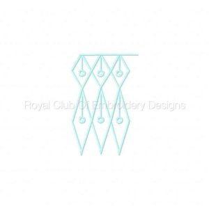 Royal Club Of Embroidery Designs - Machine Embroidery Patterns Champagne Lace FSL Set