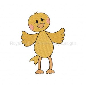 Royal Club Of Embroidery Designs - Machine Embroidery Patterns Chickie Dolls Set