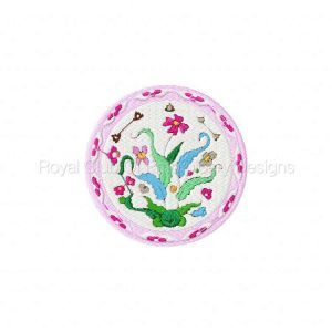 Royal Club Of Embroidery Designs - Machine Embroidery Patterns DD Chinese Plates Set
