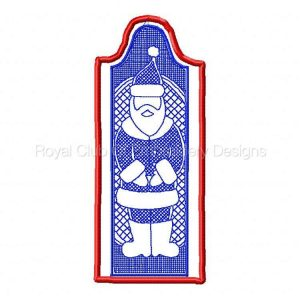 Royal Club Of Embroidery Designs - Machine Embroidery Patterns ITH Christmas Bookmarks and Gift Card Holders Set