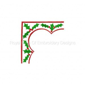 Royal Club Of Embroidery Designs - Machine Embroidery Patterns Christmas Borders Set