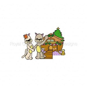 Royal Club Of Embroidery Designs - Machine Embroidery Patterns DD Christmas Noahs Ark Set