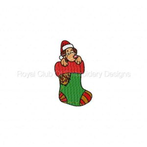 Royal Club Of Embroidery Designs - Machine Embroidery Patterns Christmas Stockings Set