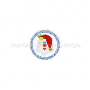 Royal Club Of Embroidery Designs - Machine Embroidery Patterns Christmas Sucker Covers Set