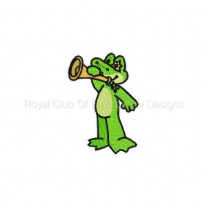 Royal Club Of Embroidery Designs - Machine Embroidery Patterns DD Circus Frogs Set