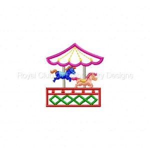 Royal Club Of Embroidery Designs - Machine Embroidery Patterns Circus Time Fun Set