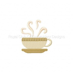 Royal Club Of Embroidery Designs - Machine Embroidery Patterns coffeetime Set