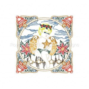 Royal Club Of Embroidery Designs - Machine Embroidery Patterns Color Line Holiday Designs Set
