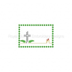 Royal Club Of Embroidery Designs - Machine Embroidery Patterns Condolences Set