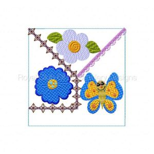 Royal Club Of Embroidery Designs - Machine Embroidery Patterns Crazy Quilt Butterflies Set