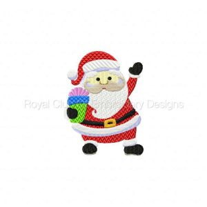Royal Club Of Embroidery Designs - Machine Embroidery Patterns Crazy Christmas Fun Set