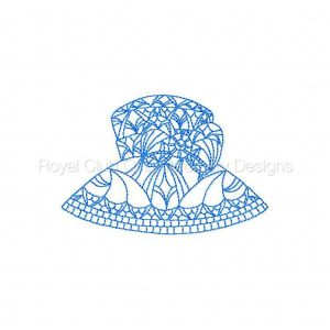 Royal Club Of Embroidery Designs - Machine Embroidery Patterns Crochet Hats Set