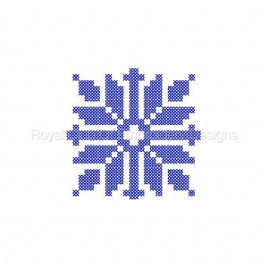 Royal Club Of Embroidery Designs - Machine Embroidery Patterns Cross Stitch Blocks Borders and Motifs Set
