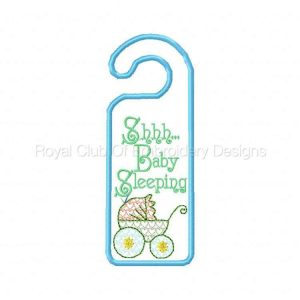Royal Club Of Embroidery Designs - Machine Embroidery Patterns Cute Door Hangers Set