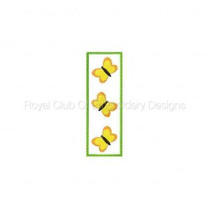 Royal Club Of Embroidery Designs - Machine Embroidery Patterns In The Hoop Cute Bookmarks Set