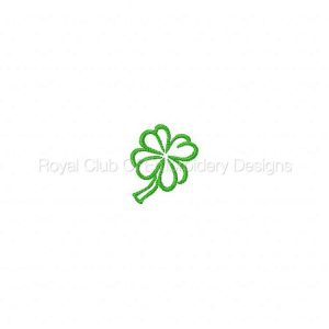 Royal Club Of Embroidery Designs - Machine Embroidery Patterns Cute St Patricks Designs Set