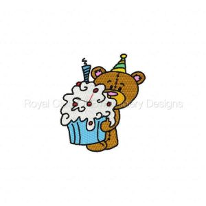 Royal Club Of Embroidery Designs - Machine Embroidery Patterns Cute Teddy Set