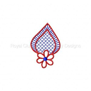 Royal Club Of Embroidery Designs - Machine Embroidery Patterns Cutwork Embroidery Set