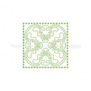 Royal Club Of Embroidery Designs - Machine Embroidery Patterns Candlewick Dreams Quilt Blocks Set
