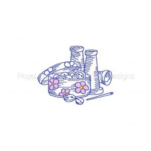 Royal Club Of Embroidery Designs - Machine Embroidery Patterns Colorwork Sewing Set