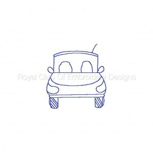 Royal Club Of Embroidery Designs - Machine Embroidery Patterns Daddys Garage Set