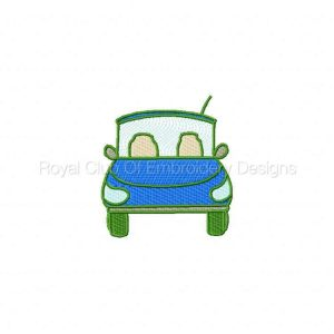 Royal Club Of Embroidery Designs - Machine Embroidery Patterns Daddys Garage Filled Set