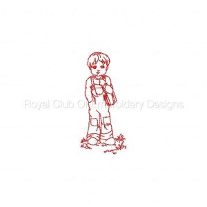 Royal Club Of Embroidery Designs - Machine Embroidery Patterns Daniel Fishing Set