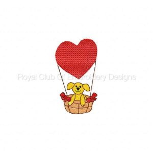 Royal Club Of Embroidery Designs - Machine Embroidery Patterns DD Be My Valentine Set