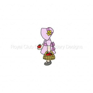 Royal Club Of Embroidery Designs - Machine Embroidery Patterns DD Bonnet Babes Set