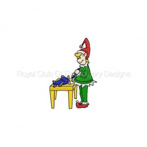 Royal Club Of Embroidery Designs - Machine Embroidery Patterns DD Christmas at the North Pole Set