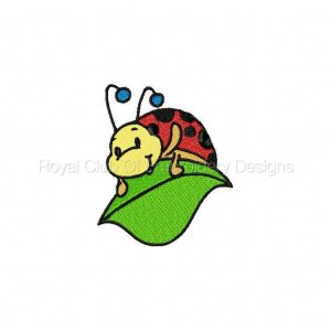 Royal Club Of Embroidery Designs - Machine Embroidery Patterns DD Cool Lady Bugs Set