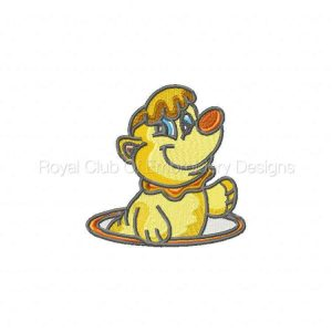 Royal Club Of Embroidery Designs - Machine Embroidery Patterns DD Critters Set