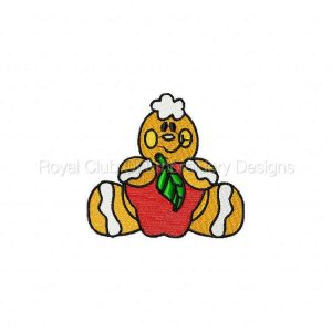 Royal Club Of Embroidery Designs - Machine Embroidery Patterns DD Gingers Helpers Set