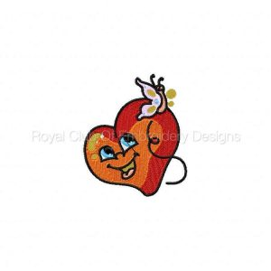 Royal Club Of Embroidery Designs - Machine Embroidery Patterns DD Valentine Hearts Set