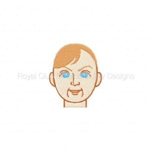 Royal Club Of Embroidery Designs - Machine Embroidery Patterns DD Little Darlings Set