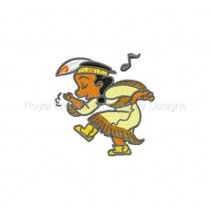 Royal Club Of Embroidery Designs - Machine Embroidery Patterns DD Little Indians Set